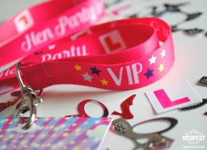 hen party lanyards