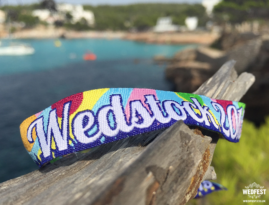 wedstock wedding wristband