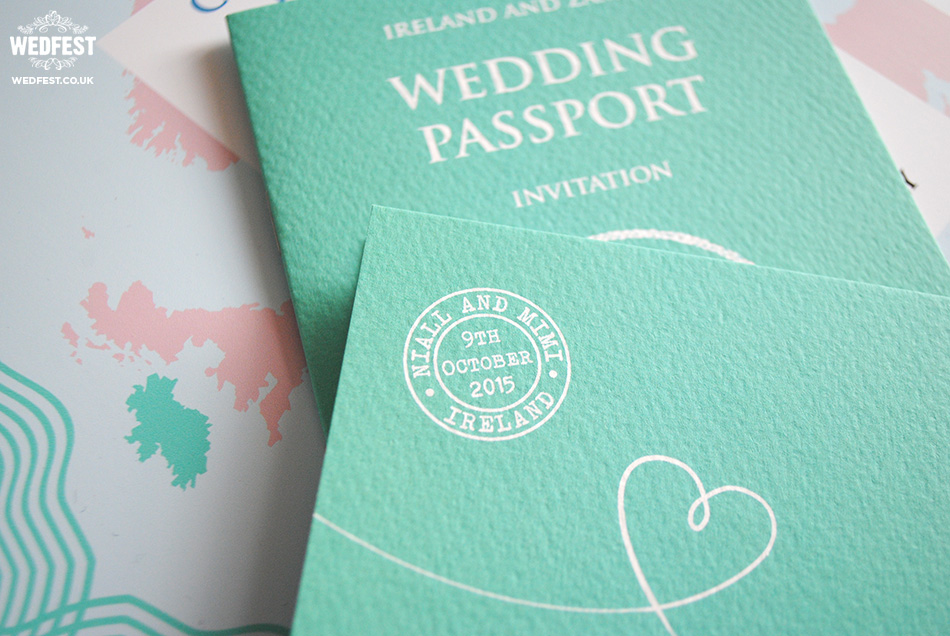 custom passport invitations