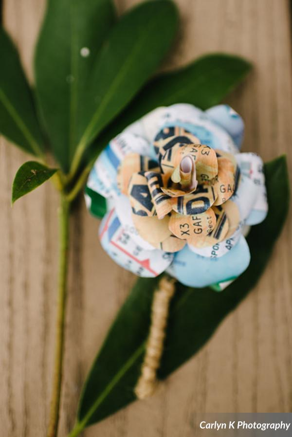 festival wedding paper flowers