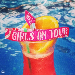 hen party girls on tour wristbands