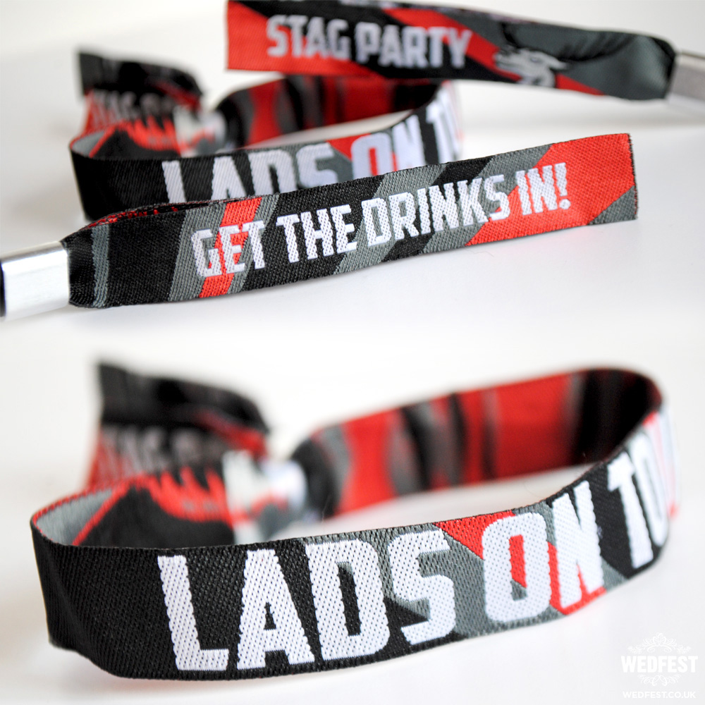 stag do wristbands
