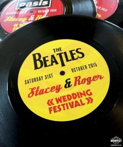 the beatles wedding vinyl record
