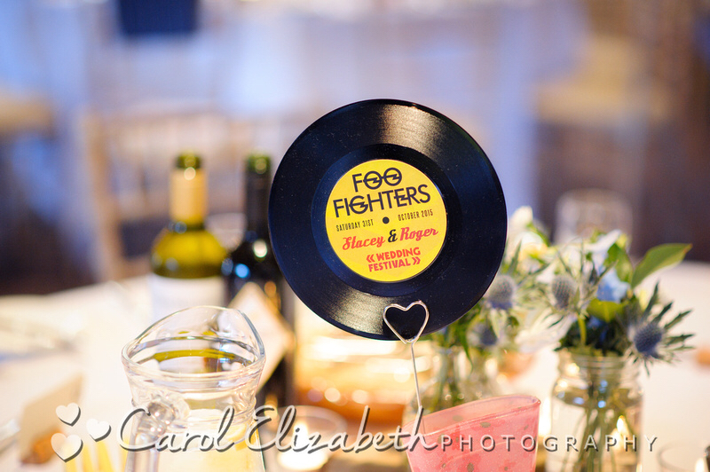 vinyl record wedding table names