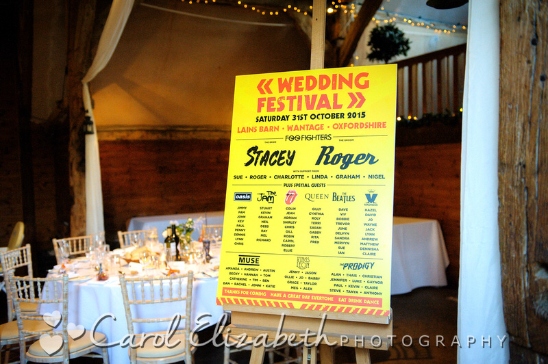 wedding festival table plan
