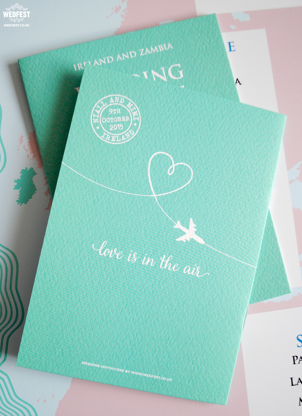 wedding passport invite
