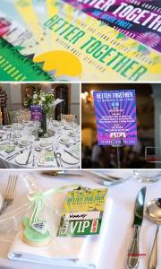 festival wedding table ideas