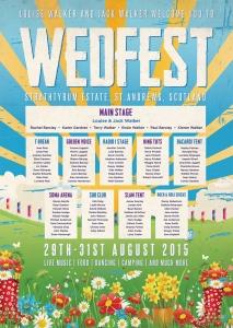 Wedfest Strathtyrum Estate St Andrews Festival Wedding Table Plan