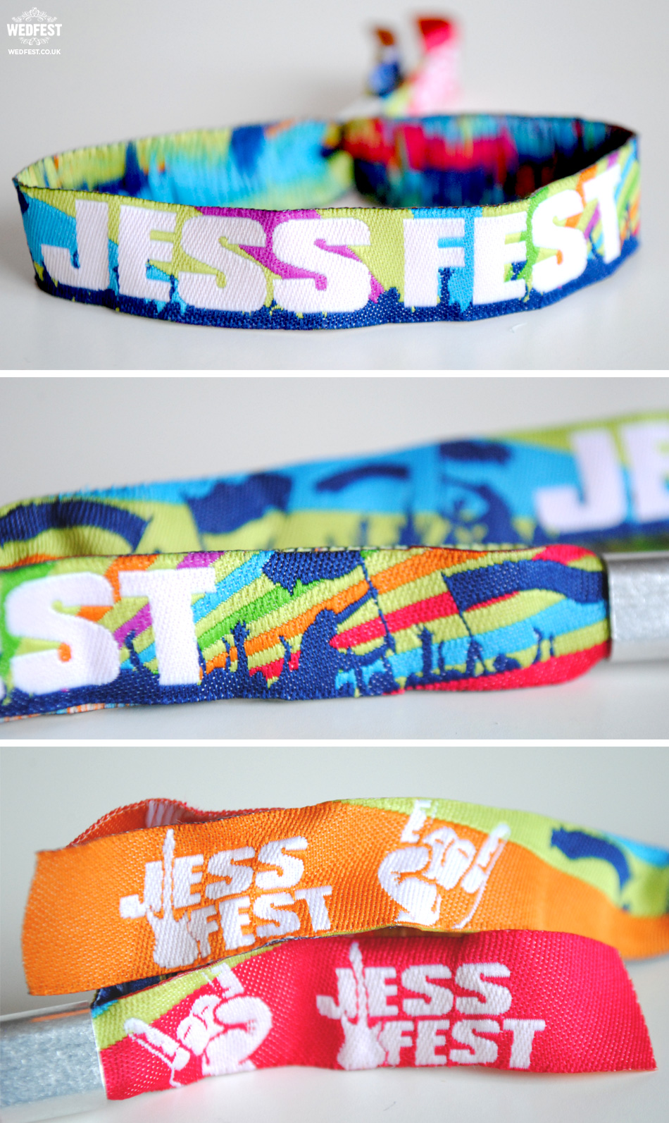 kids party festival wristbands
