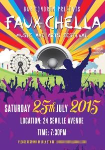 Faxuchella Themed Party Invite