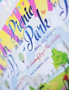 Picnic in the Park Wedding