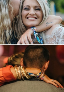 custom wedding wristbands