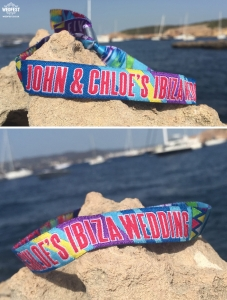 Ibiza Wedding Wristband Wedding Favours