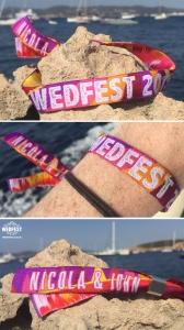 Personalized Fabric Wristbands