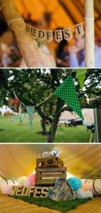 wedfest decor styling