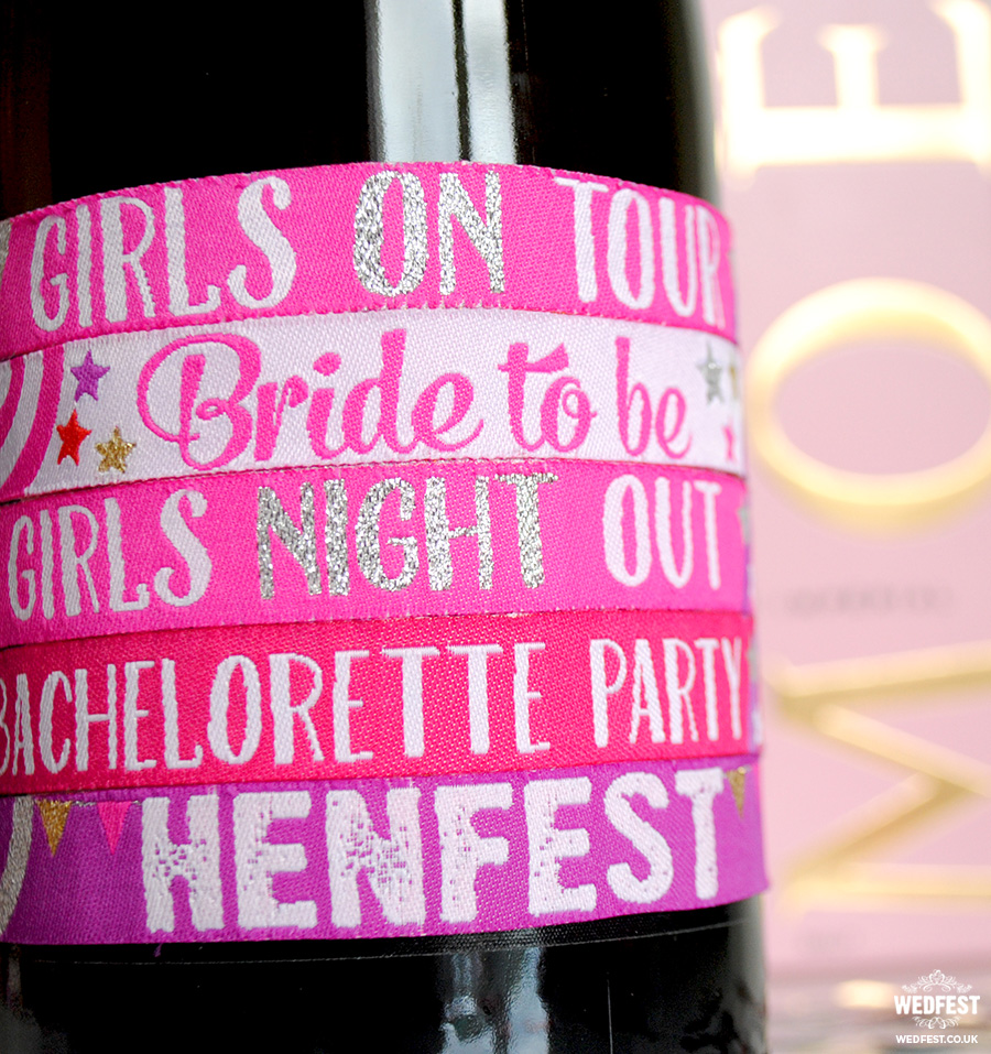 bachelorette party festival wristband