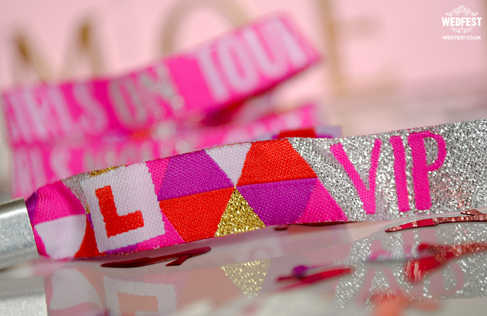 hens party accessories vip wristband