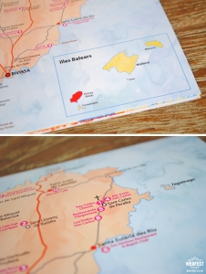 ibiza map wedding invite