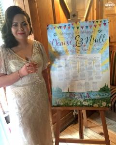 lusty beg island festival wedding table plan