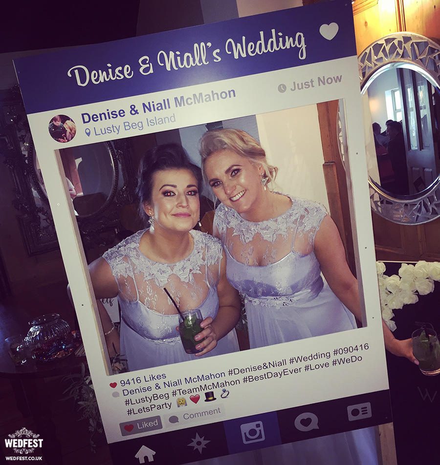 wedding instagram frame