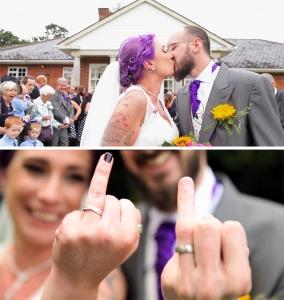 rock and roll bride wedding