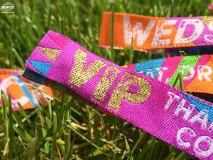 vip wedding wristbands