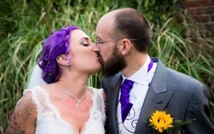 wedfest rock n roll bride and groom