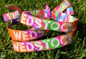 wedstock wedding wristband