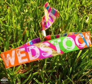 wedstock wedding wristbands