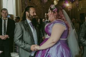 heavy metal rockers wedding