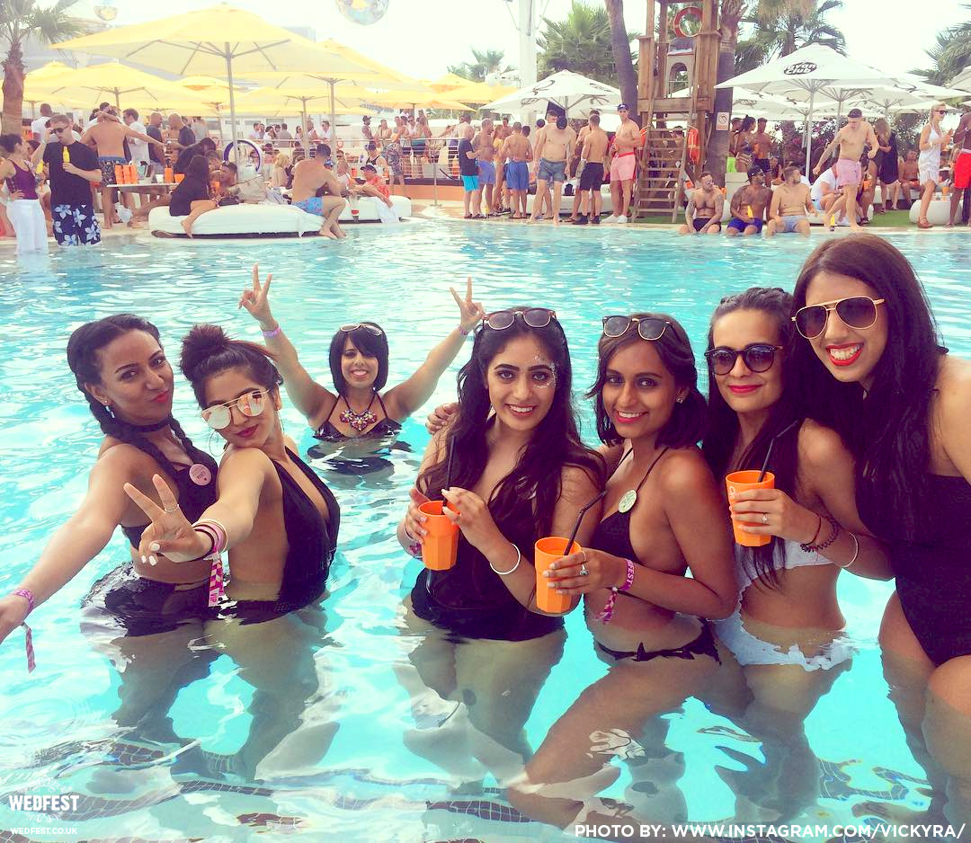 hen party wristbands ocean beach club ibiza