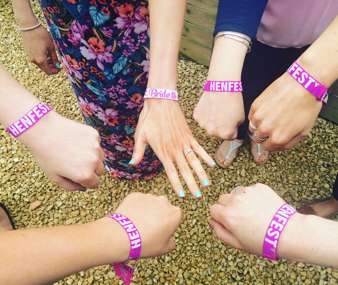 henfest hen party wristband