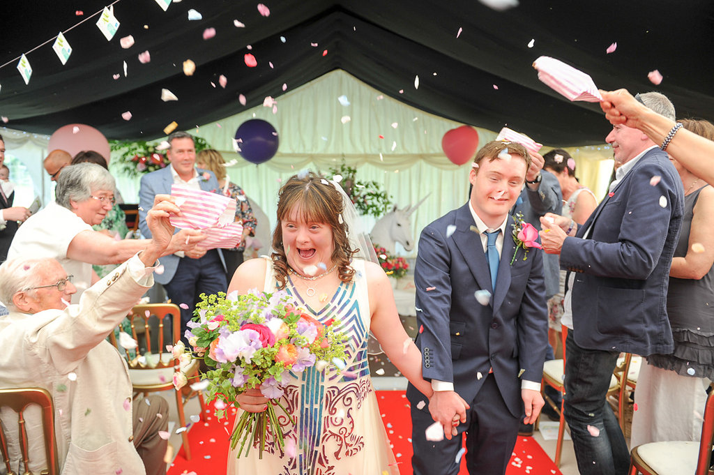 Joe & Polly's Festival Wedding