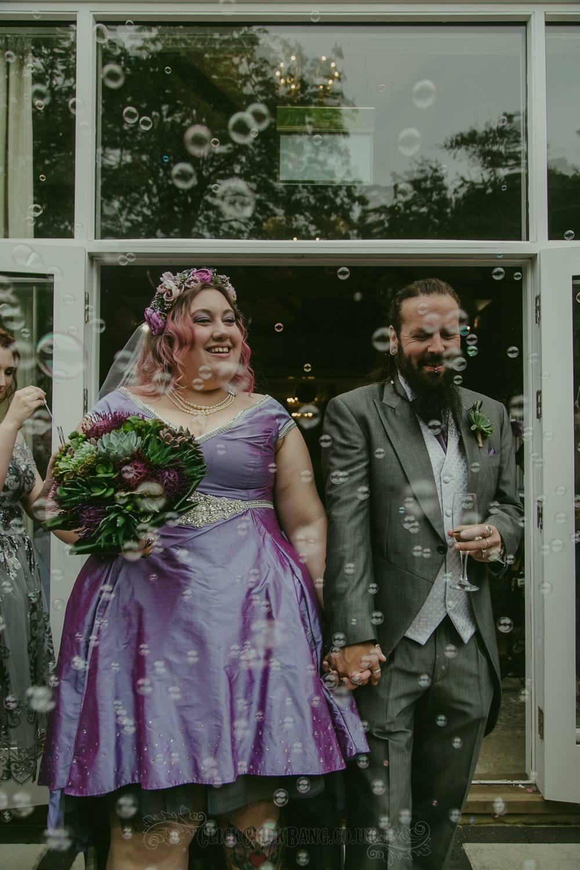 kitty and stu heavy metal wedding