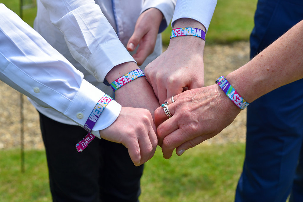 wedfest wedding wristbands