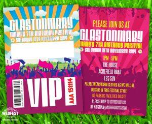 festival theme childrens birthday-party invitation
