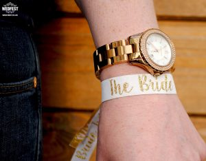 bride hens party wristband accessory