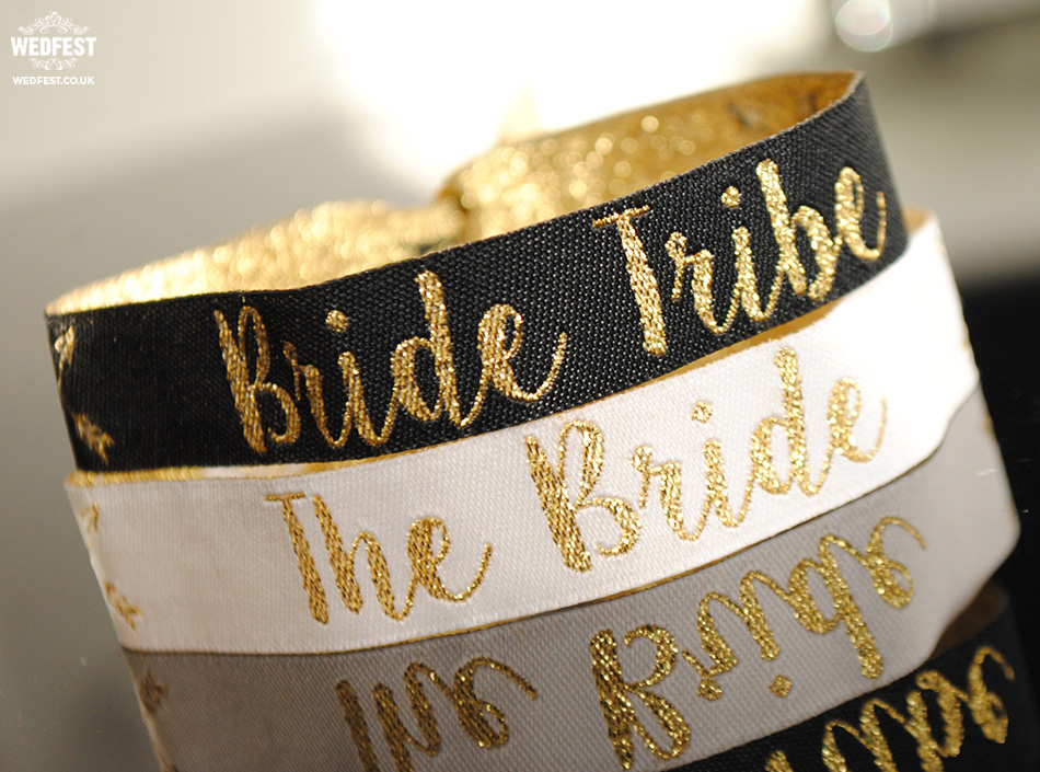 bride tribe hen do wristbands