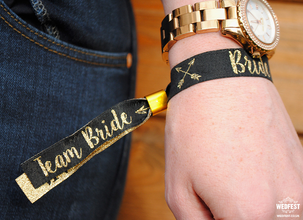 bride tribe team bride wristbands