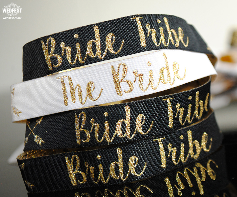brides tribe wristbands