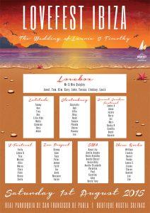 lovefest ibiza wedding seating plan