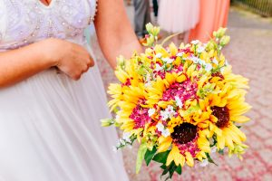 festival wedding flowers