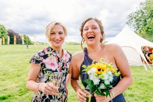 quirky festival wedding