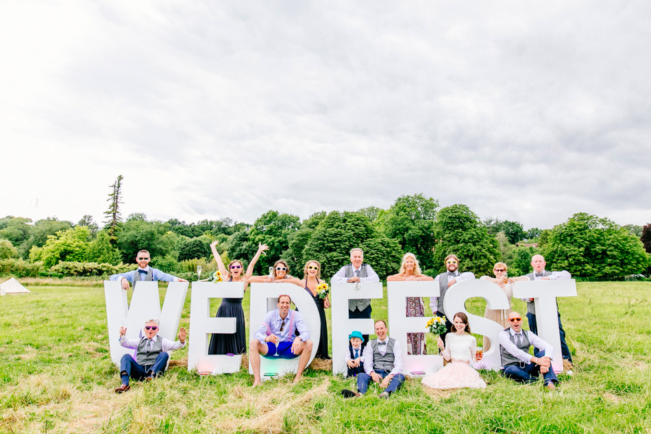 wedfest signage