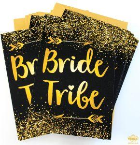 bride tribe invitations