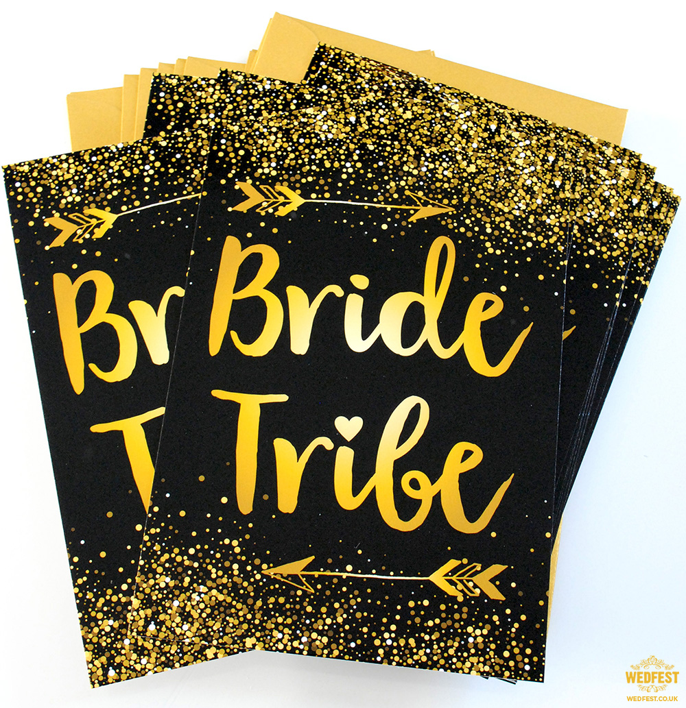 bride tribe invitations
