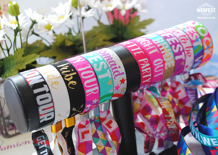 hens party wristbands bride tribe