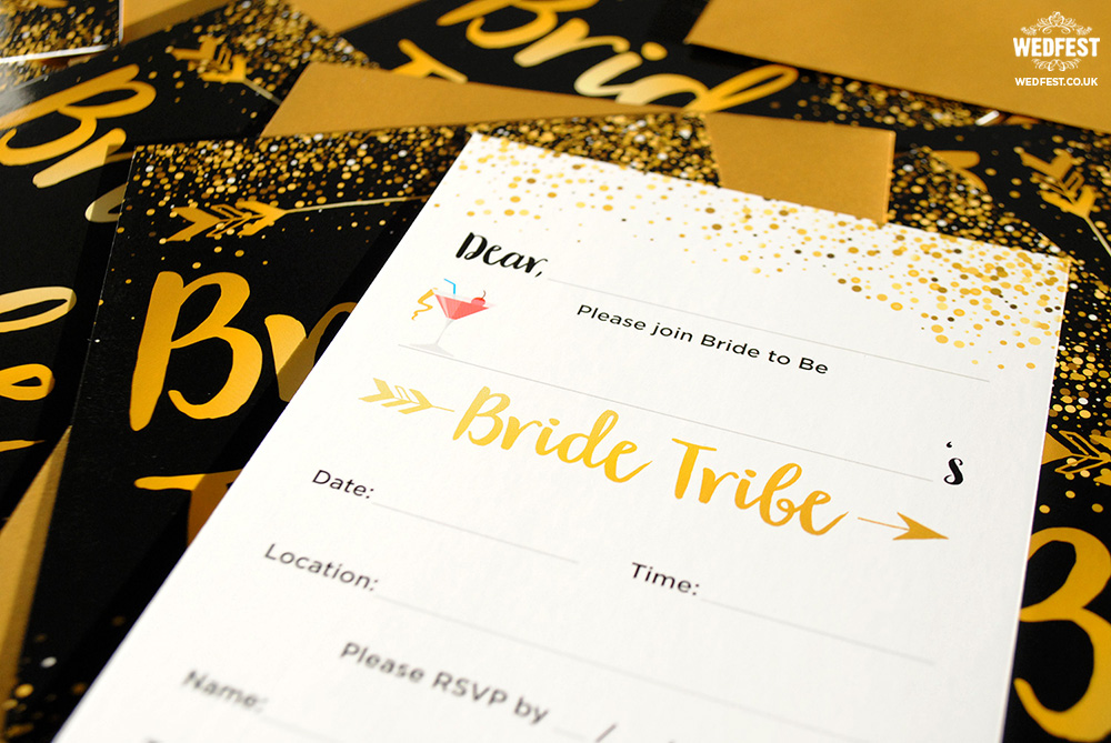 team bride invitation