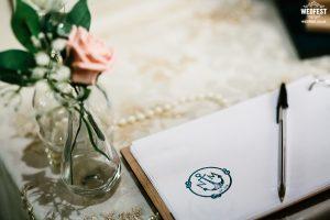 personalised wedding stamp