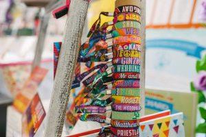 wedfest custom wedding wristbands